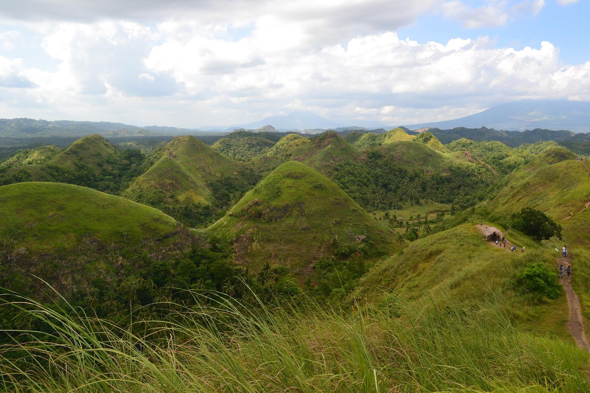 Photo of Čokoládové vrchy filipínských ostrovů